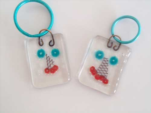 Beady Eyes key chains