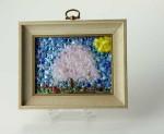 Springtime: Cherry Blossoms no. 4 / frit