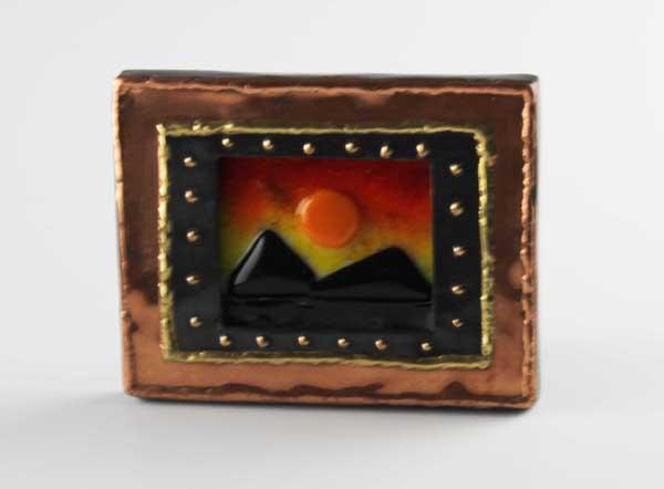 Copper Sunrise, by Diane C. Taylor