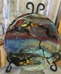 Sharon Evans, Studio S'Evans, and a larger otherworldly piece